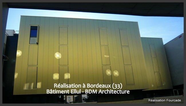Fourcade Bâtiment  bois Ellul Bordeaux 33