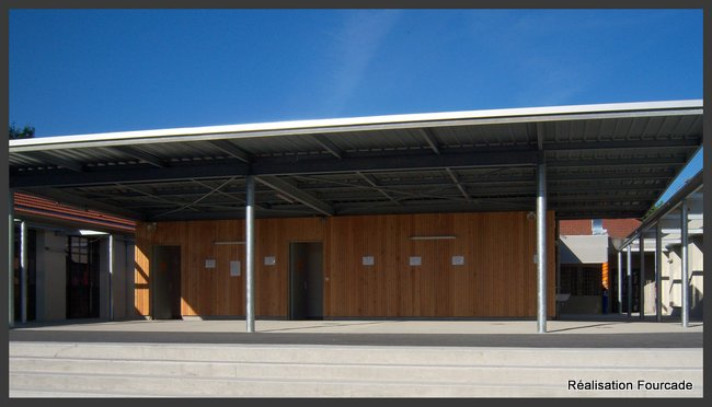 Fourcade Collège bois  Monein 64 (2)