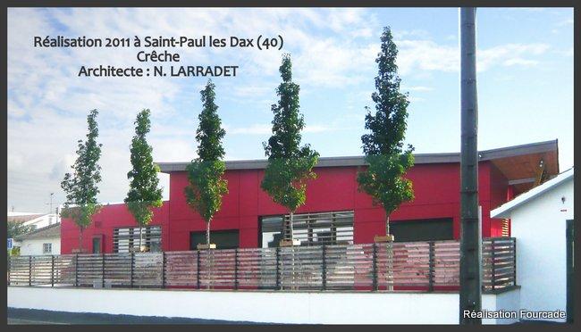 Fourcade Crêche  bois Saint-Paul les Dax 40