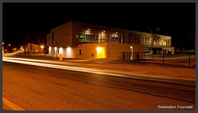 Fourcade Gymnase et groupe scolaire bois  Lezat sur Lèze 09 (2)
