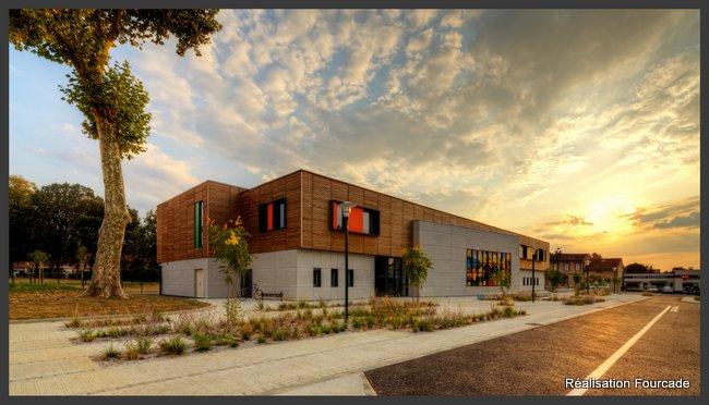 Fourcade Gymnase et groupe scolaire bois  Lezat sur Lèze 09 (3)