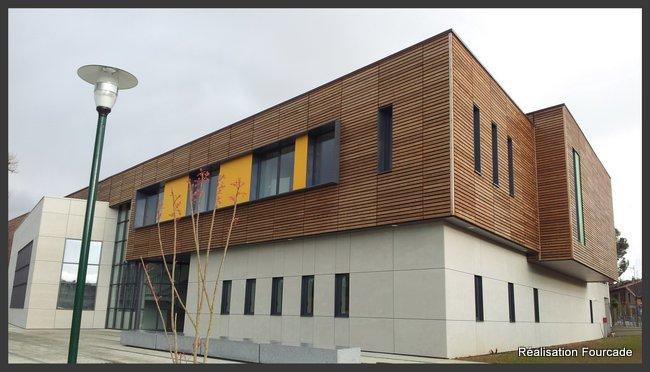 Fourcade Gymnase et groupe scolaire bois  bois  Lezat sur Lèze 09 (8)