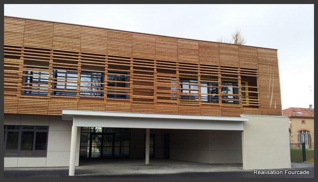 Fourcade Gymnase et groupe scolaire bois  bois  Lezat sur Lèze 09 (9)