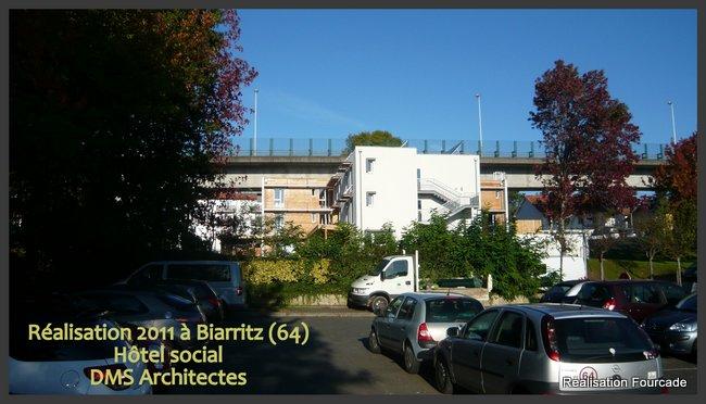 Fourcade Hôtel social  bois Biarritz 64