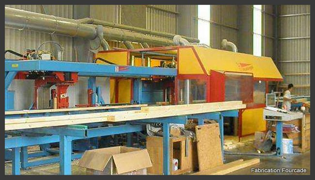 Fourcade charpentes : fabrication murs ossature bois et charpente
