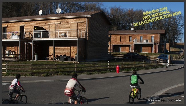 Prix national de la construction bois 2013 dans le Gers (32) - Fourcade
