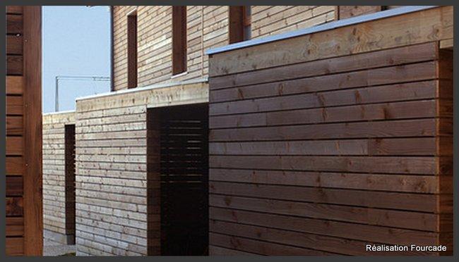 Construction en bois batiments collectifs dans le Gers (32) - Fourcade