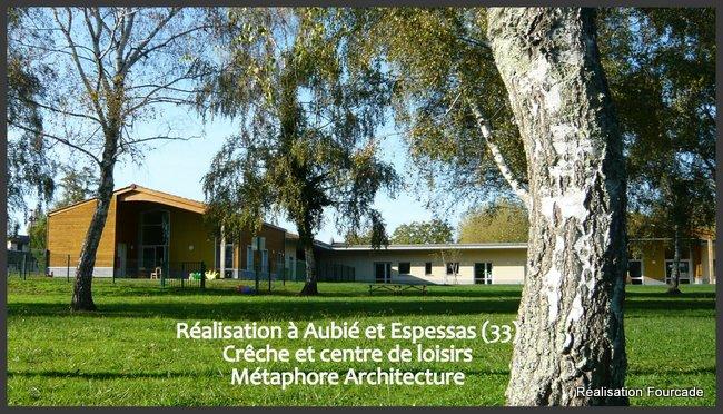 Fourcade bâtiments crêche clsh   bois Aubie et Espessas 33