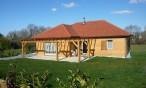 Maison bois de plain pied à Artiguelouve près de Pau (64, Pyrénées Atlantiques)