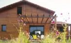 Maison en bois à Saint Martin de Hinx (Landes, 40)