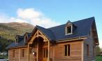 Maison bois en montagne, à Soulom (Hautes Pyrénées, 65)
