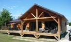 Maison bois à Assat (Pyrénées Atlantiques, 64)
