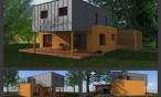 Maison-bois-en-cours-construction-Lons-64