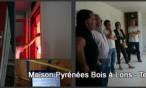 Maison PYRENEES BOIS 64 : Test étanchéité très performant / RT 2012
