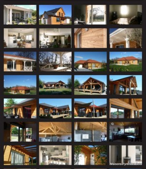 Maisons PYRENEES BOIS dans le Sud-Ouest : galerie de photos