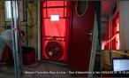 Maison Pyrénées Bois à Lons : test étanchéité air 18-19 04 2014