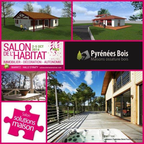 Maison landaise pyr n es bois maisons ossature bois 64 - Salon habitat bordeaux ...