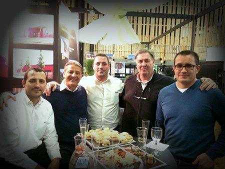 Equipe PYRENEES BOIS au salon Vivons Bois - Conforexpo à Bordeaux