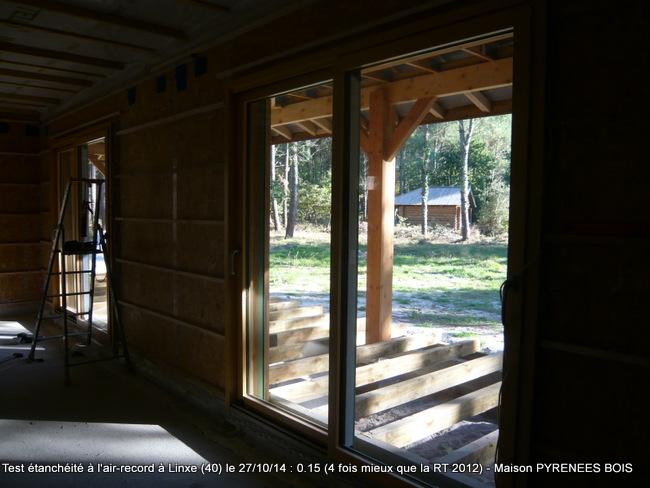 Maison en bois Linxe, Landes (40) : le choix de matériaux isolants performants et naturels avec Pyrénées Bois