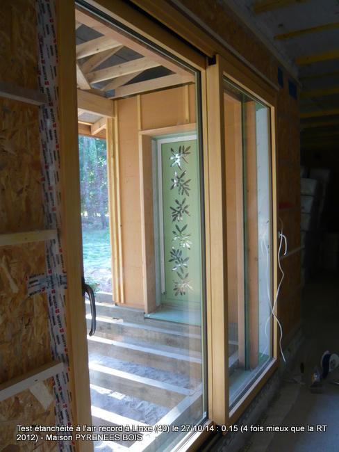 Maison en bois dans les Landes (40) : 4 fois mieux que la RT 2012 (équivalent passif) pour le constructeur Pyrénées Bois