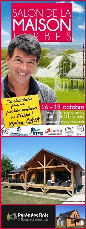Pyrénées Bois et Stéphane Plaza au Salon de la Maison à Tarbes