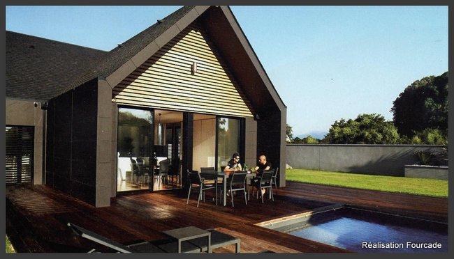 maison bois moderne et lumineuse dans les Pyrénées (65)