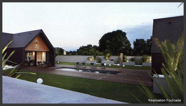 Villa ossature bois Pyrénées (65)