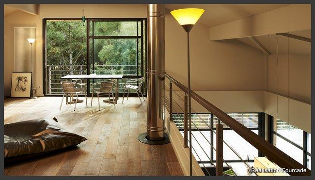 Maison bois d'architecte Moliets (Landes, 40)