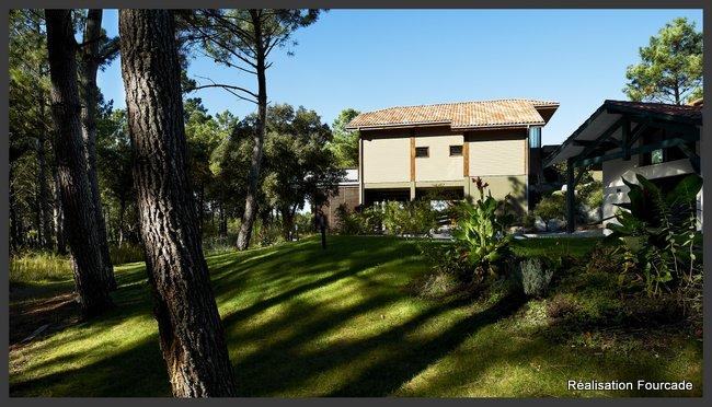 Villa ossature bois Moliets (Landes, 40)