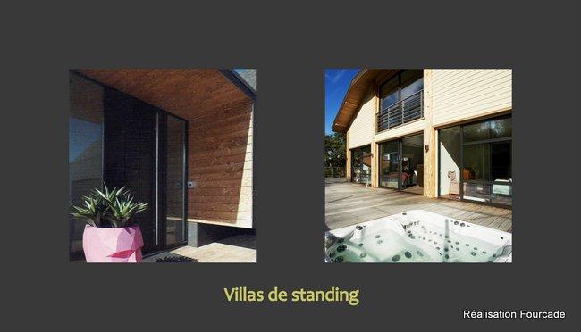 Maison bois d'architecte : villas de standing dans le Sud-Ouest