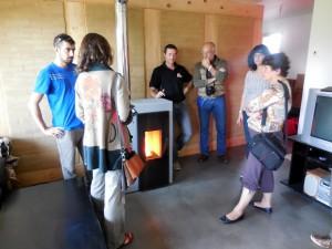 Visite maisons bois à LONS (64) - Journées de l'Energie