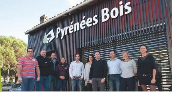 Equipe Pyrénées Bois à Tarbes