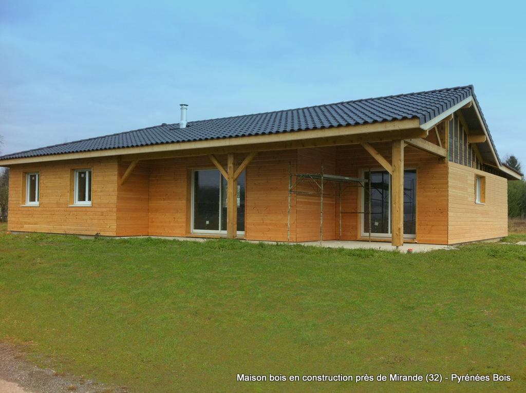 Maison bois visiter dans le gers portes ouvertes le 21 for Constructeur maison gers