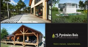 Maison bois : galerie photos Pyrénées Bois