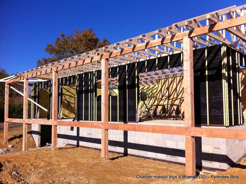 Construction maison bois  les étapes  Pyrénées Bois  Maisons ossature bois 64