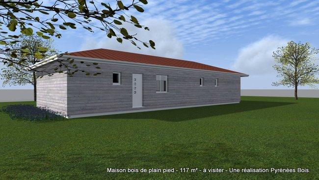 Maison Bois à visiter en Bigorre (65)  Pyrénées Bois  Maisons ossature boi