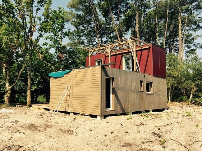Maisons modulaires pyr n es bois maisons ossature bois 64 - Maison modulaire bois ...